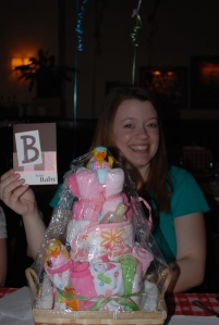 heathers baby shower and prezzies 100