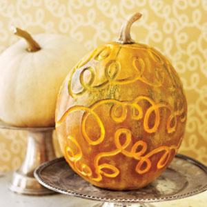 curlicue pumpkin