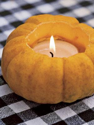 Pumpkin Votiv